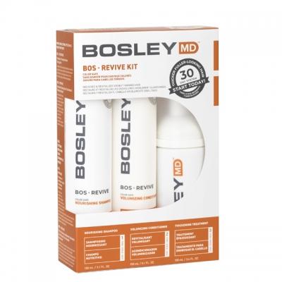 Набор против выпадения и для роста волос Bosley MD — для окрашенных