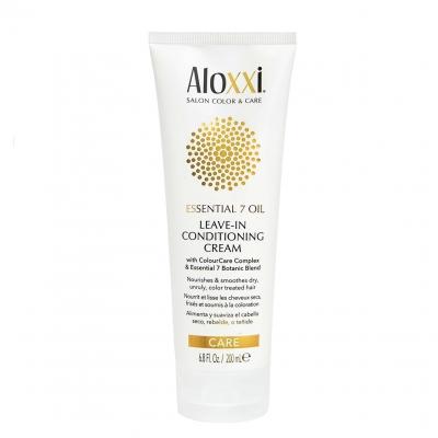 Несмываемый питательный крем против пушистости Aloxxi «7 масел», 200 мл
