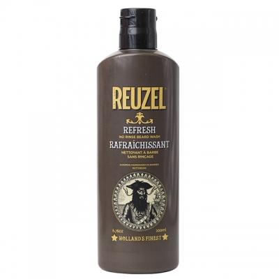 Несмываемая очищающая пена для бороды Reuzel, 200 мл