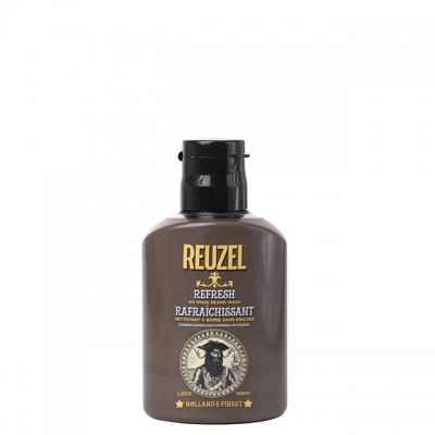 Несмываемая очищающая пена для бороды Reuzel, 100 мл