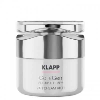 Питательный крем «Коллаген» Klapp CollaGen 24h Cream Rich, 50 мл