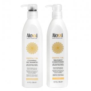 Комплект Aloxxi Duo «Питание 7 масел»: шампунь и кондиционер