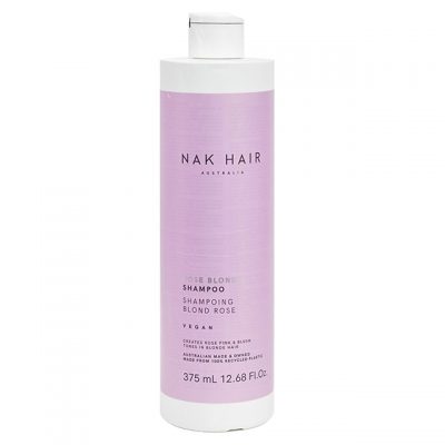Тонирующий шампунь NAK «Розовый блонд», 375 мл