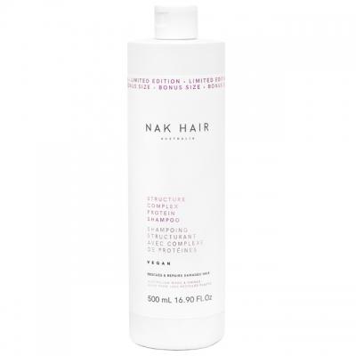 Протеиновый шампунь для восстановления волос NAK Structure Complex, 500 мл