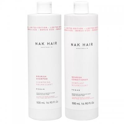 Комплект NAK Duo «Питание»: шампунь и кондиционер, 500 мл