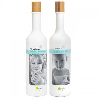 Комплект для детей O'right Duo «Одуванчик»: шампунь и гель для душа