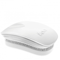 Компактная расческа-детанглер ikoo pocket classic white «Классический белый»