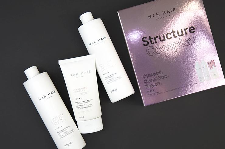 Набор для восстановления волос NAK Structure Complex