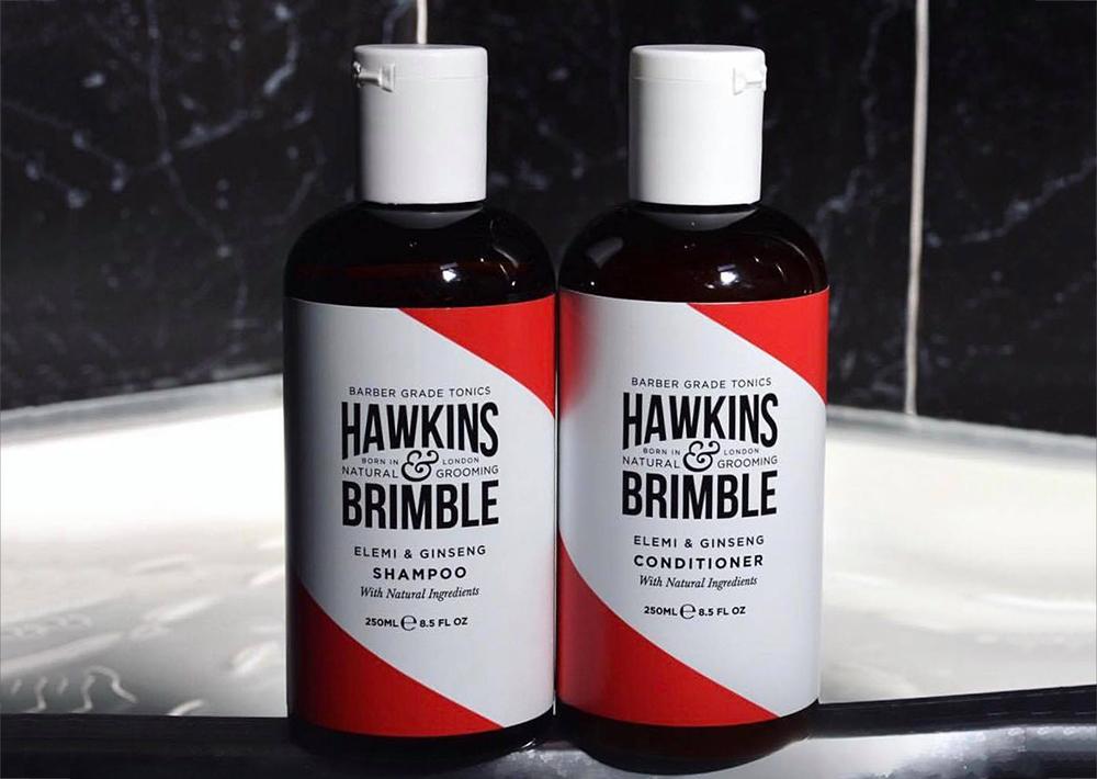 Шампунь и кондиционер Hawkins & Brimble