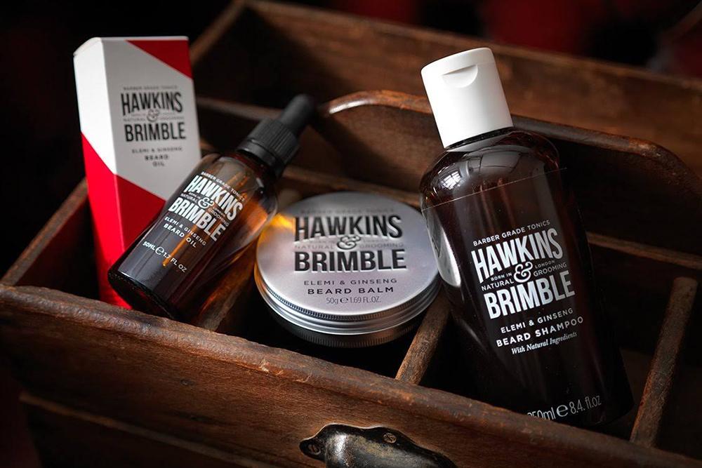 Средство для укладки волос и бороды Hawkins & Brimble
