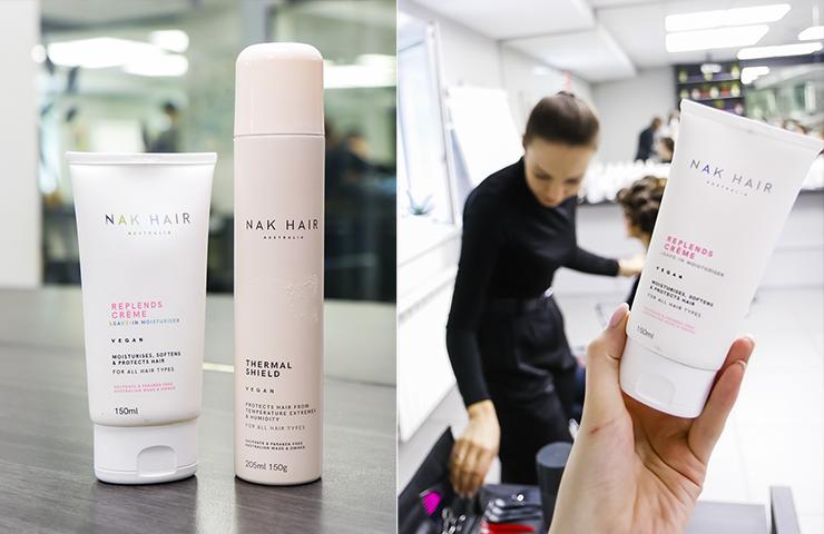 Для накручивания волос нужен увлажняющий крем и термозащитное средство