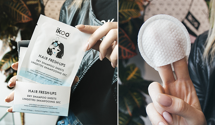 Салфетки-шампуни для волос ikoo