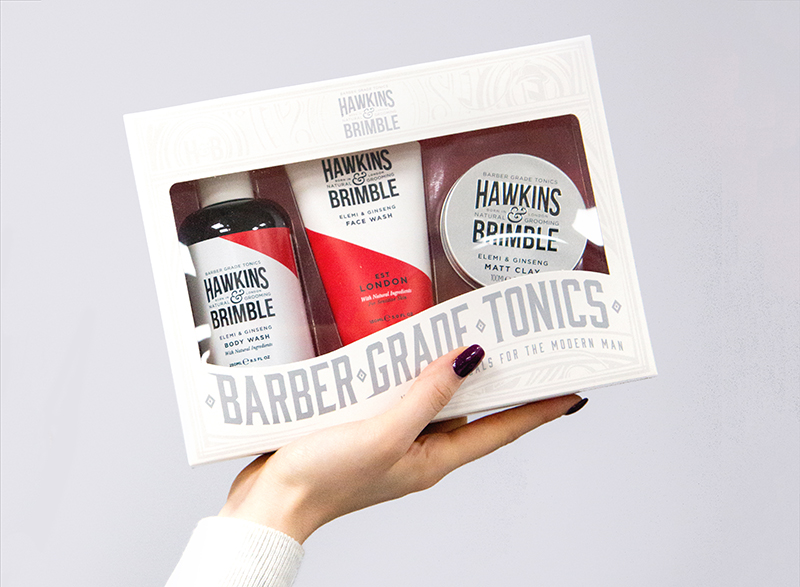 Набор Hawkins & Brimble Root to Tip Gift Set