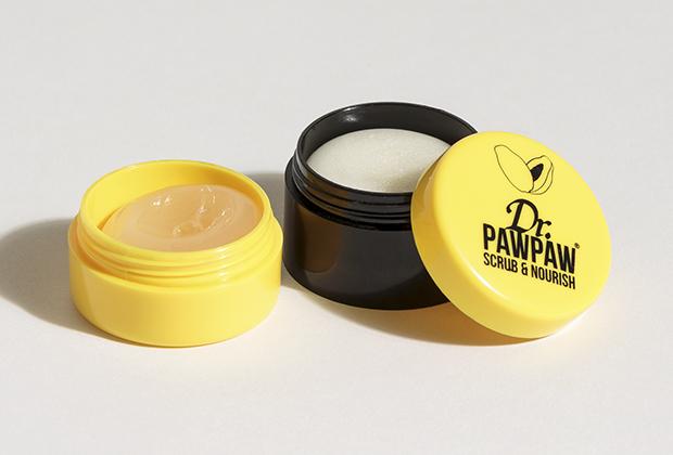 Сахарный скраб и бальзам для губ Dr. PAWPAW